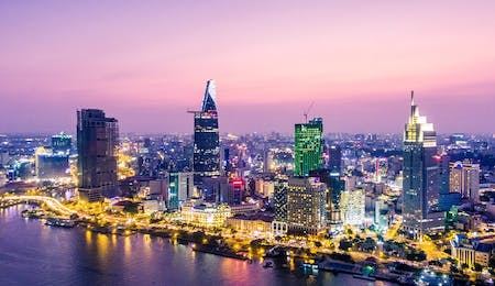 HO CHI MINH CITY - LONDON