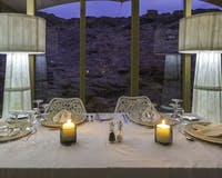 Dining area at Hoanib Skeleton Coast Camp