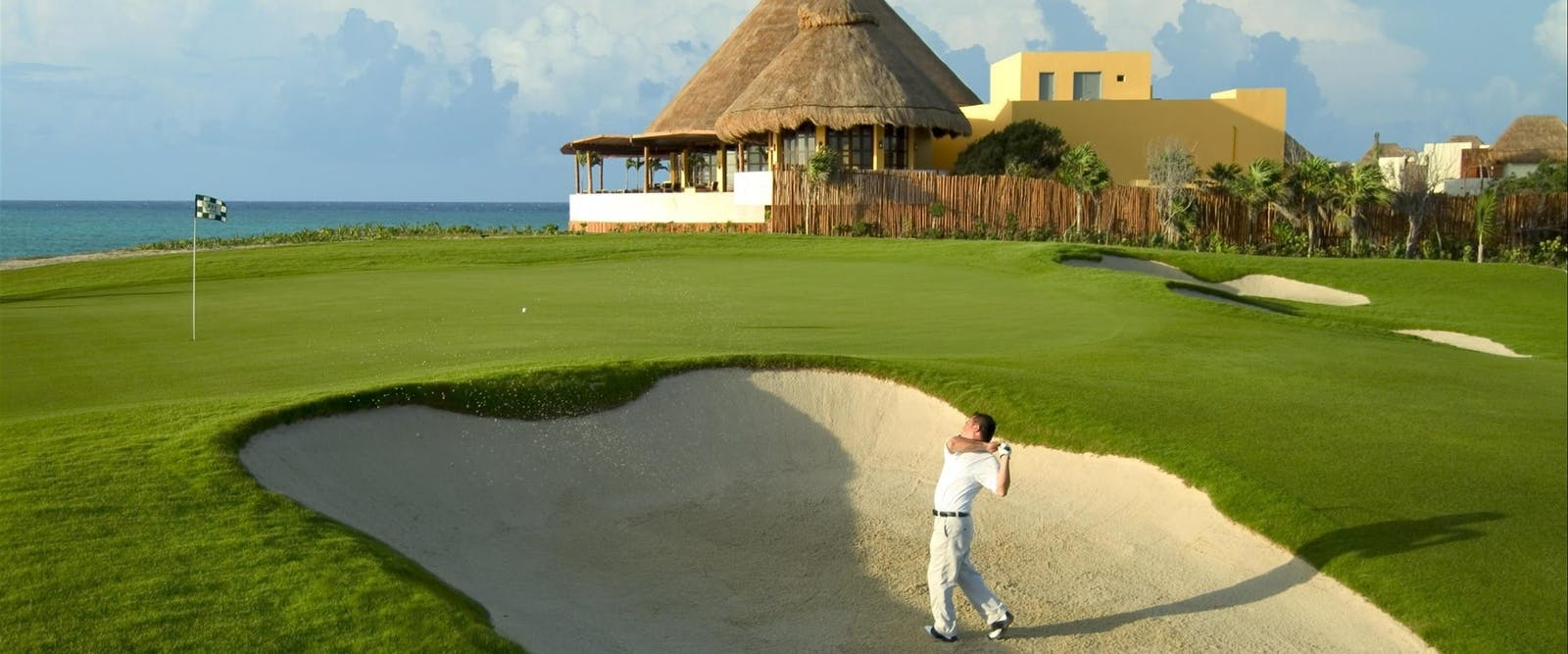 Golf Course at Fairmont Mayakoba, Riviera Maya, Mexico