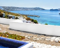 Honeymoon Terrace, Grace Mykonos, Greece