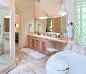 Bathroom at Horizons, Barbados