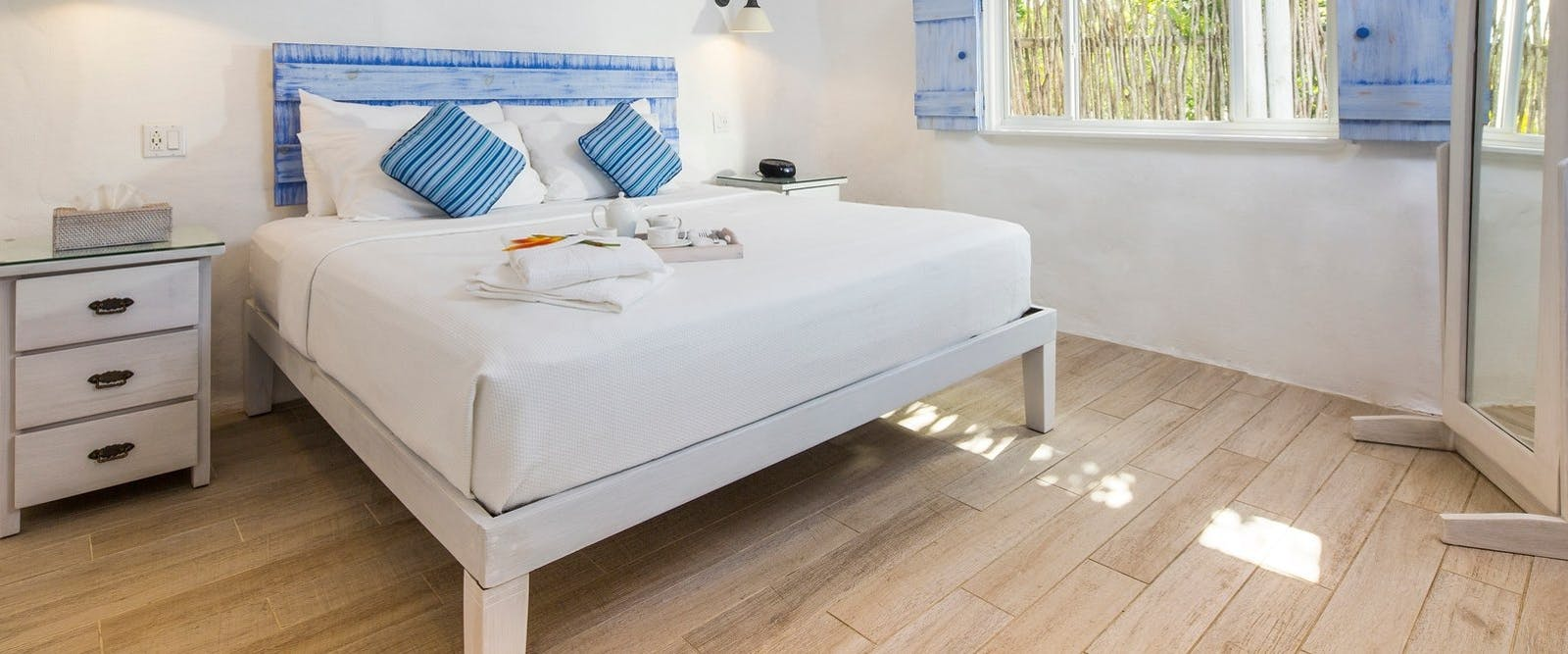 Gauguin Suite Bedroom at Galley Bay Resort & Spa, Antigua