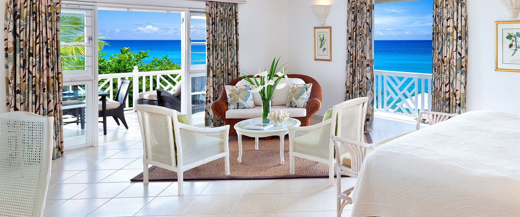 Luxury junior spa at coral reef club barbados
