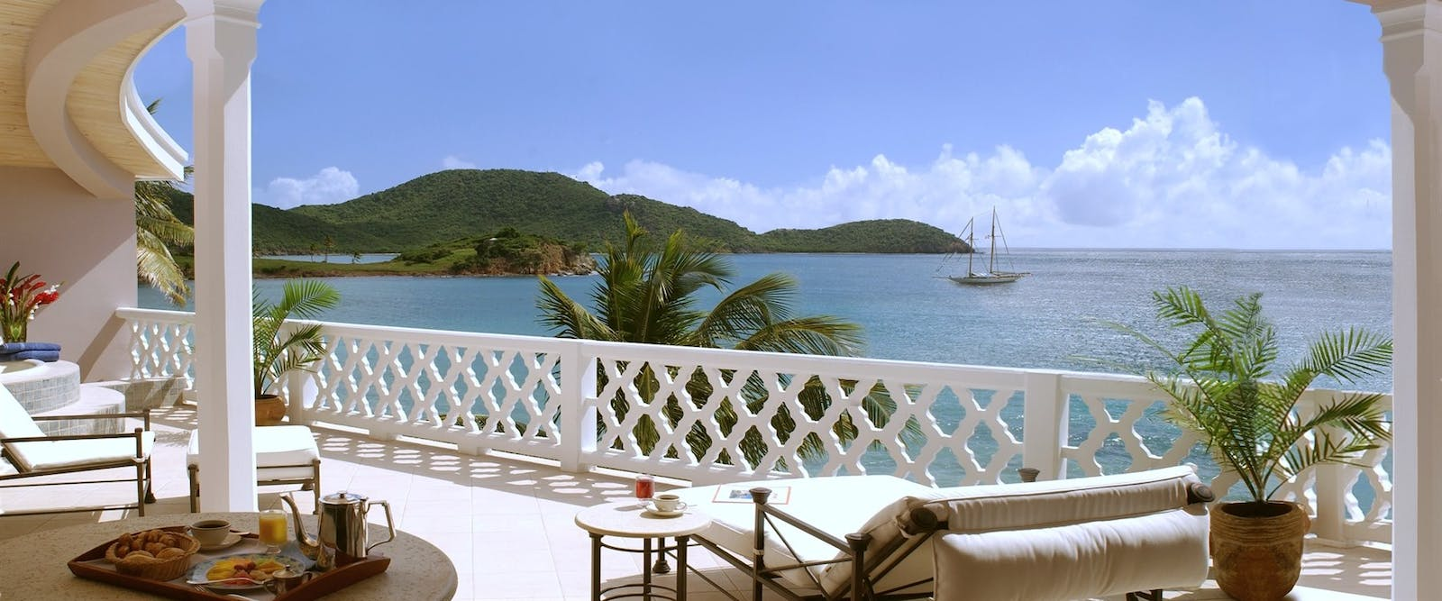Grace Balcony at Curtain Bluff, Antigua