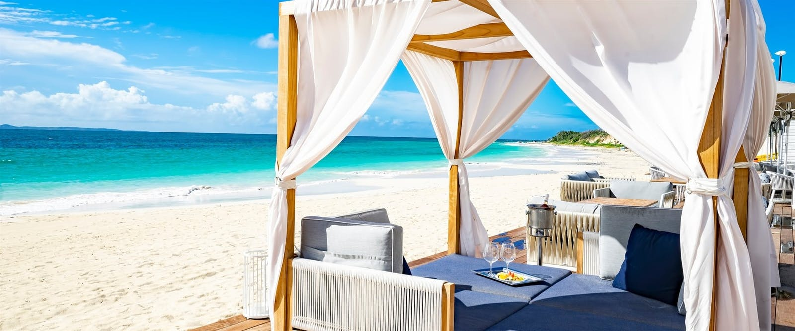 Beach Cabana at CuisinArt Golf Resort & Spa, Anguilla