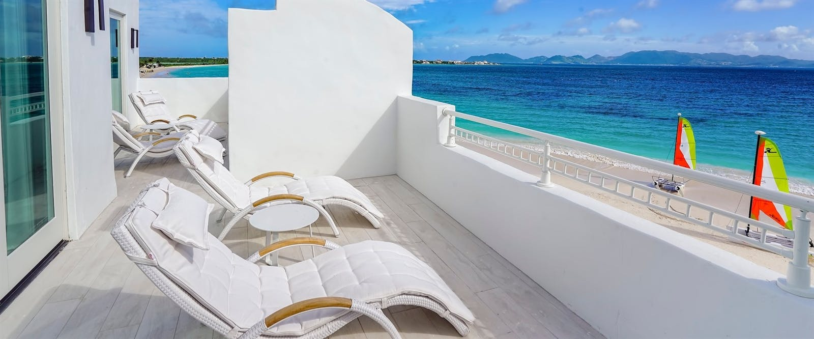 Beachfront One Bedroom Suite Balcony at CuisinArt Golf Resort & Spa, Anguilla