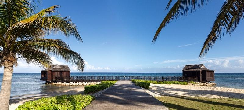 Ocean view at royal villas at half moon
