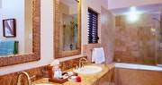 Bathroom at Nisbet Plantation Beach Club, Nevis