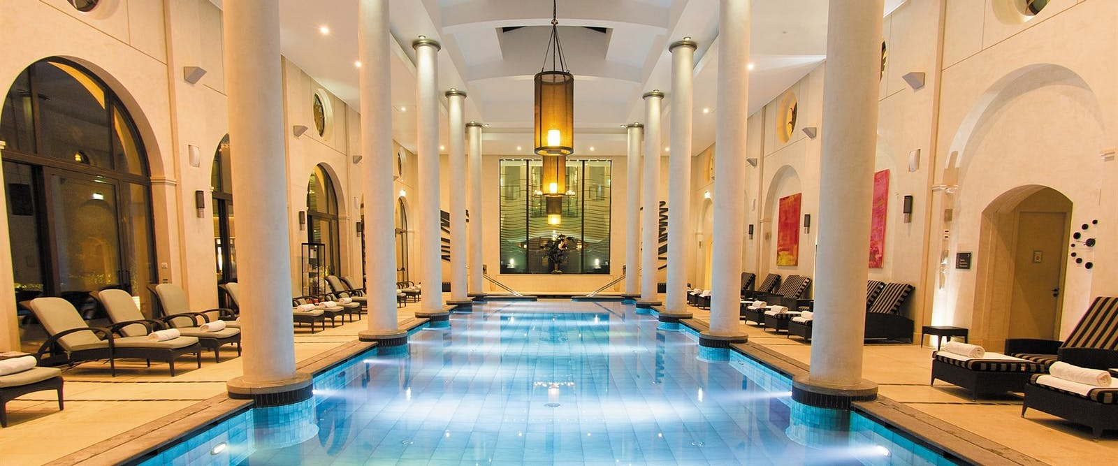 Indoor Pool at Terre Blanche Hotel Spa Golf Resort, Provence, France