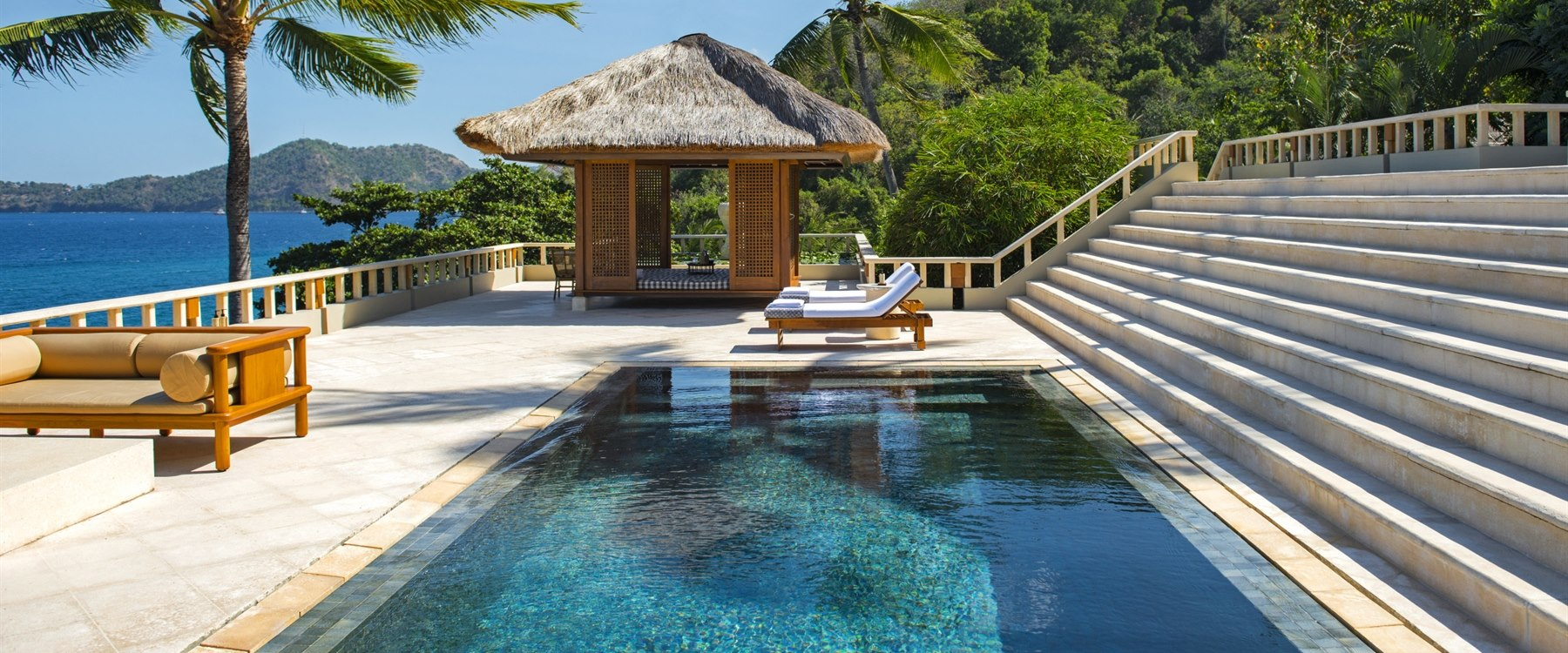 Suite Pool at Amankila, Bali