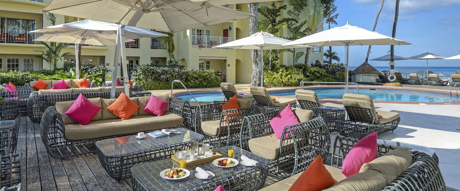Rilaks Pool Deck at Tamarind by Elegant Hotels, Barbados
