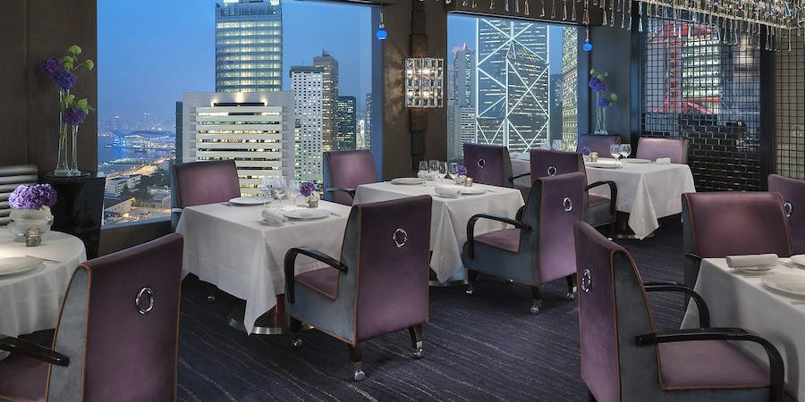 Restaurant at Mandarin Oriental Hong Kong