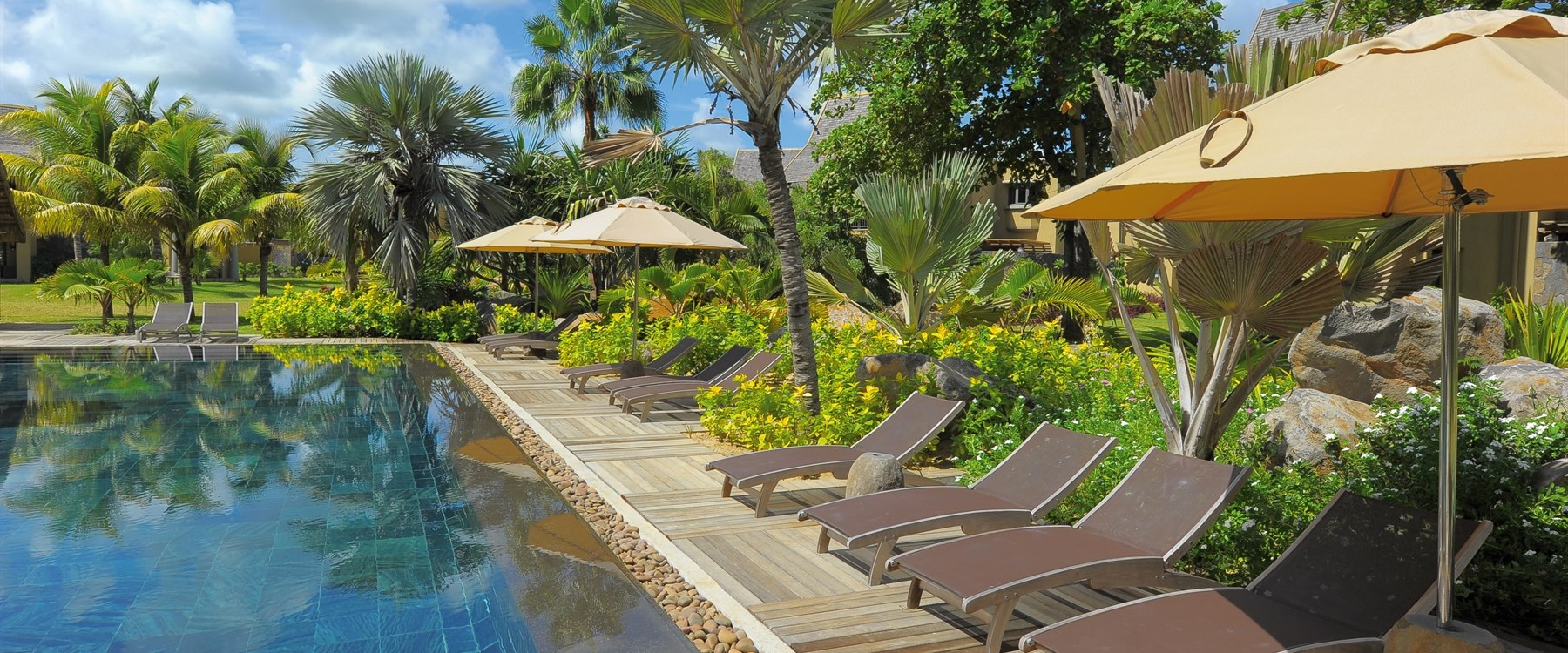 Swimming pool at Trou Aux Biches Beachcomber Golf Resort & Spa, Mauritius