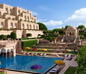 Exterior view of The Oberoi Amarvillas, Agra