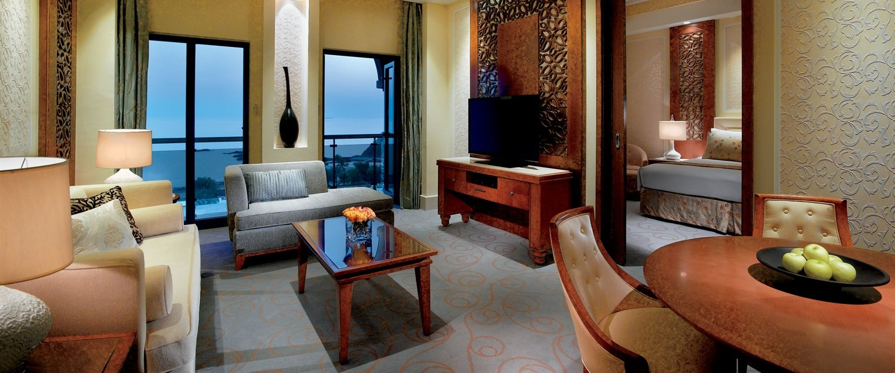 Executive Sea View Suite at Al Bustan Palace, A Ritz-Carlton Hotel, Muscat