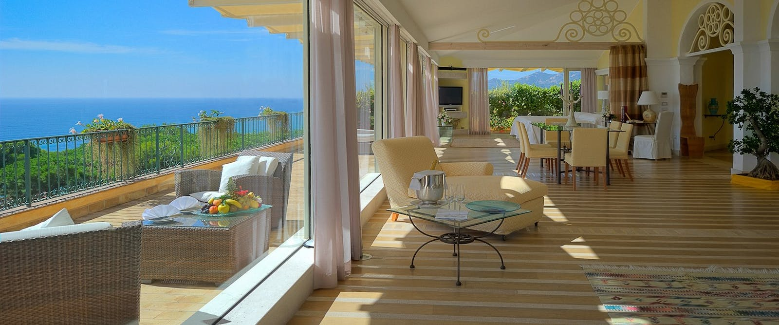 Royal Suite at Forte Village Hotel Castello, South Sardinia, Italy