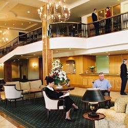 Rutherford Hotel foyer