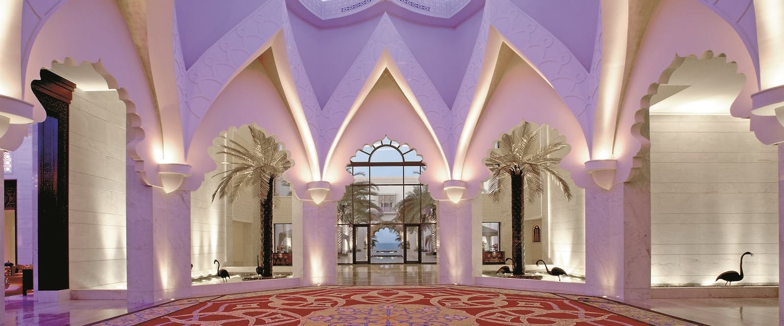 Hotel lobby at Shangri-La's Al Husn Resort & Spa