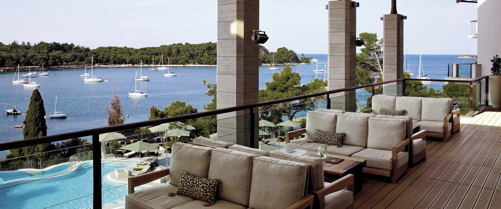 Dining with a View at Hotel Monte Mulini, Croatia