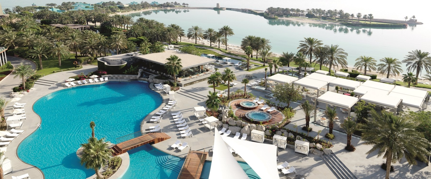 Hotel Overview at The Ritz Carlton Bahrain Hotel Villas and Spa