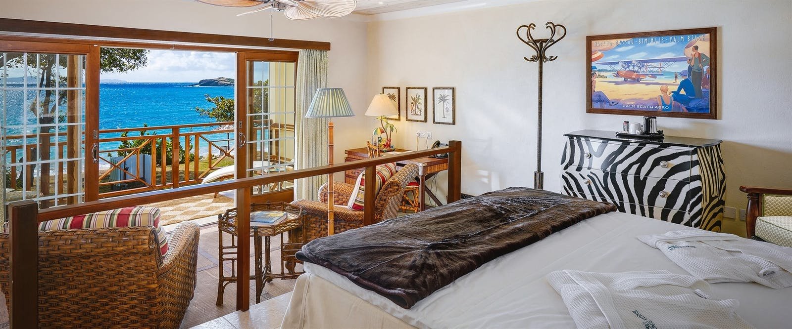 Beachfront Suite at Bequia Beach Hotel, St Vincent and The Grenadines
