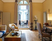 Junior Deluxe Suite at Hotel Savoy, Florence, Italy