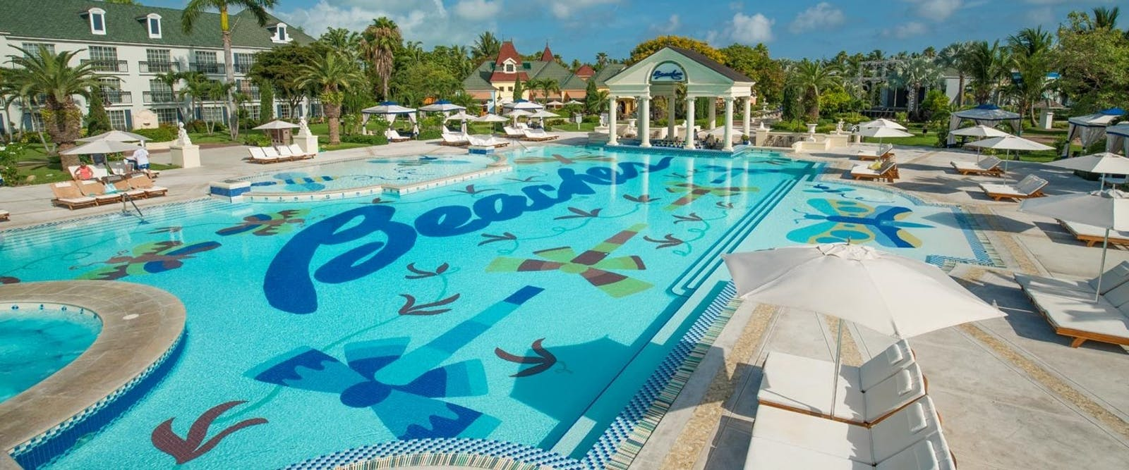 French Village Pool at Beaches Turks & Caicos Resort Villages & Spa