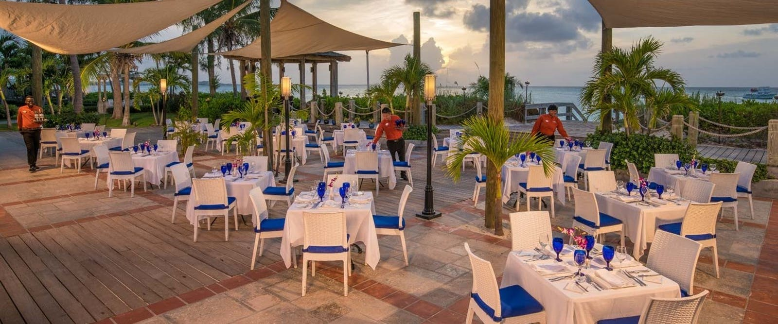 Bayside Restaurant at Beaches Turks & Caicos Resort Villages & Spa
