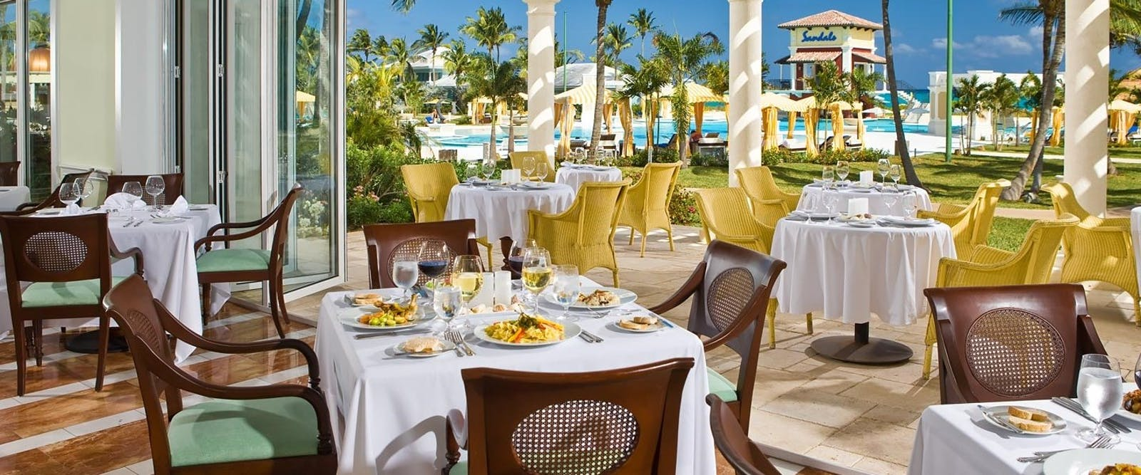 Il Cielo Restaurant at Sandals Emerald Bay Golf, Tennis & Spa Resort, Bahamas, Caribbean