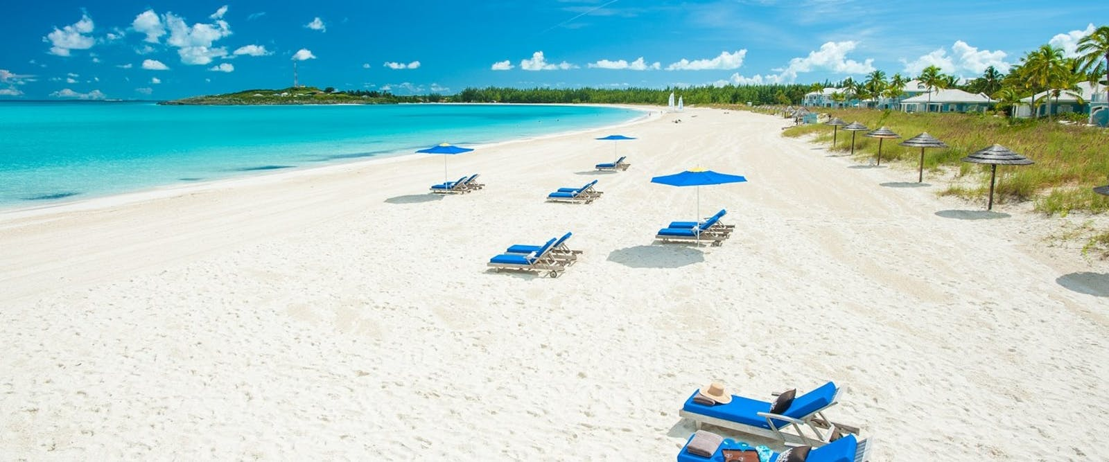 Beach at Sandals Emerald Bay Golf, Tennis & Spa Resort, Bahamas, Caribbean