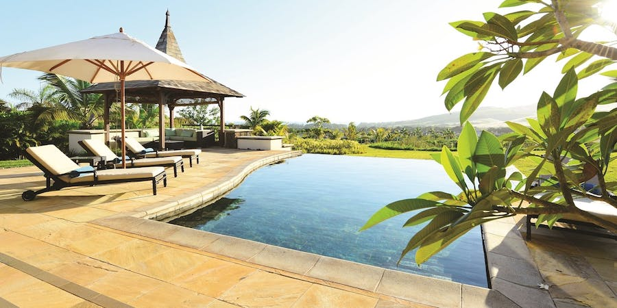 Swimming Pool at Heritage The Villas, Mauritius