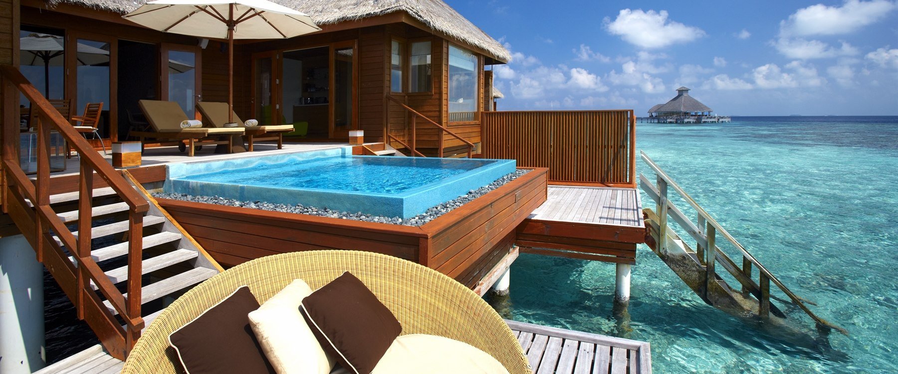 Ocean Bungalow with Pool at Huvafen Fushi, Maldives