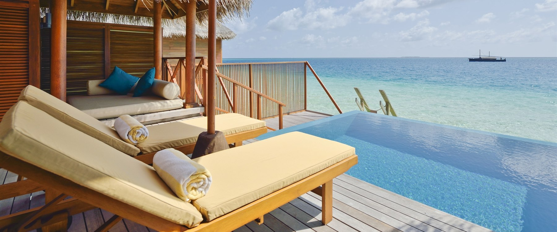 Lagoon Bungalow with Pool at Huvafen Fushi, Maldives
