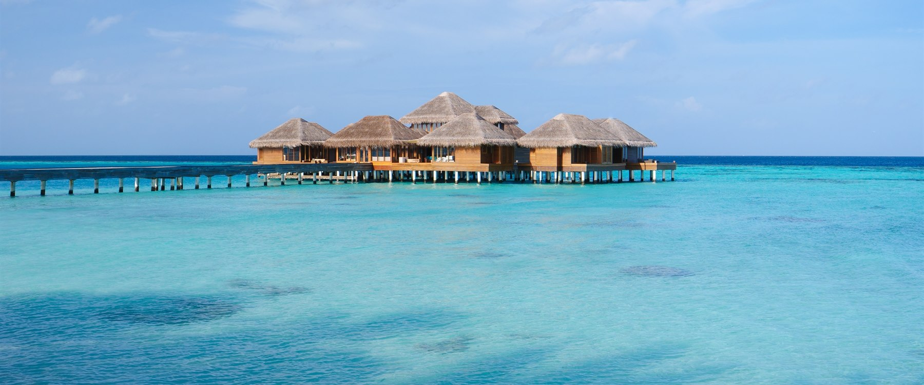 Spa Exterior at Huvafen Fushi, Maldives