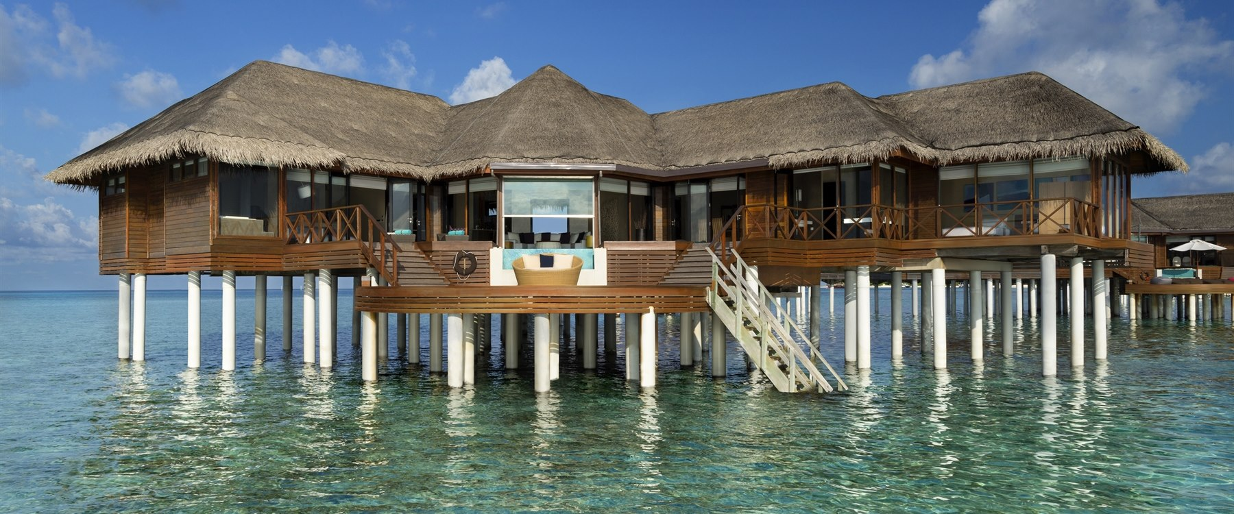 Ocean Pavilion with Pool at Huvafen Fushi, Maldives