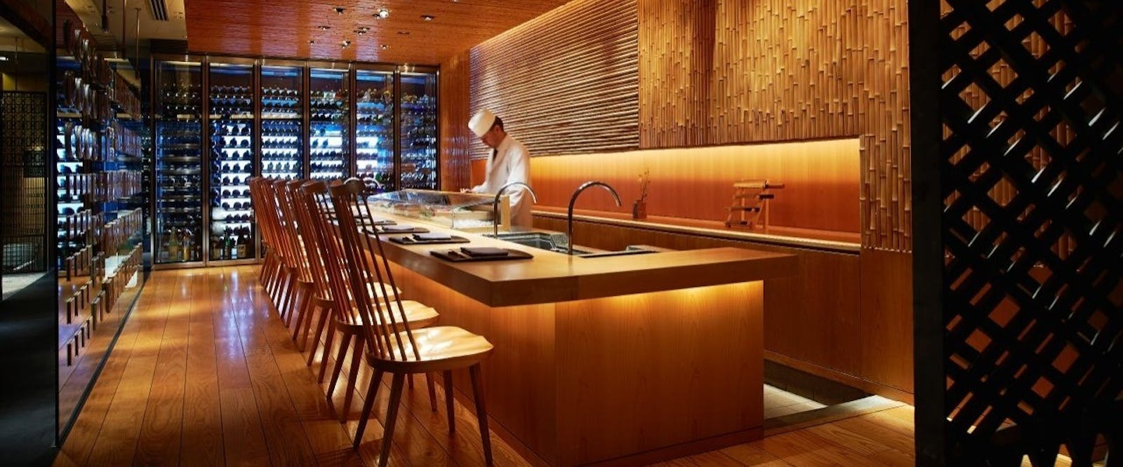 Touzan Sushi Counter at Hyatt Regency Kyoto, Japan