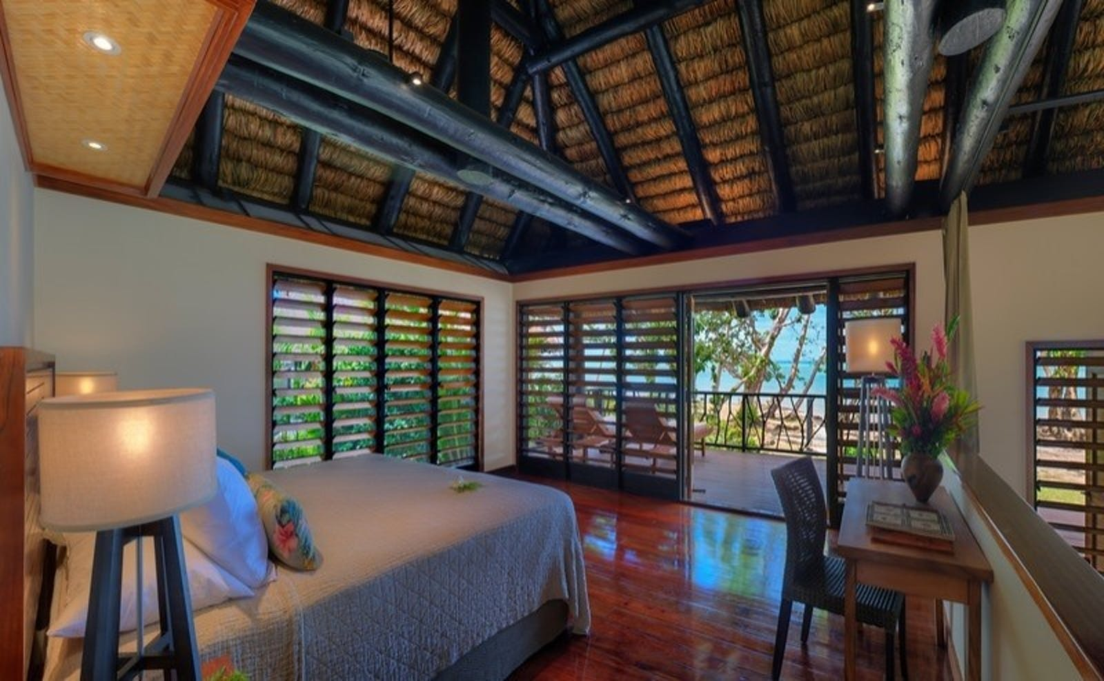 Oceanfront Bure at Jean-Michel Cousteau Resort, Fiji