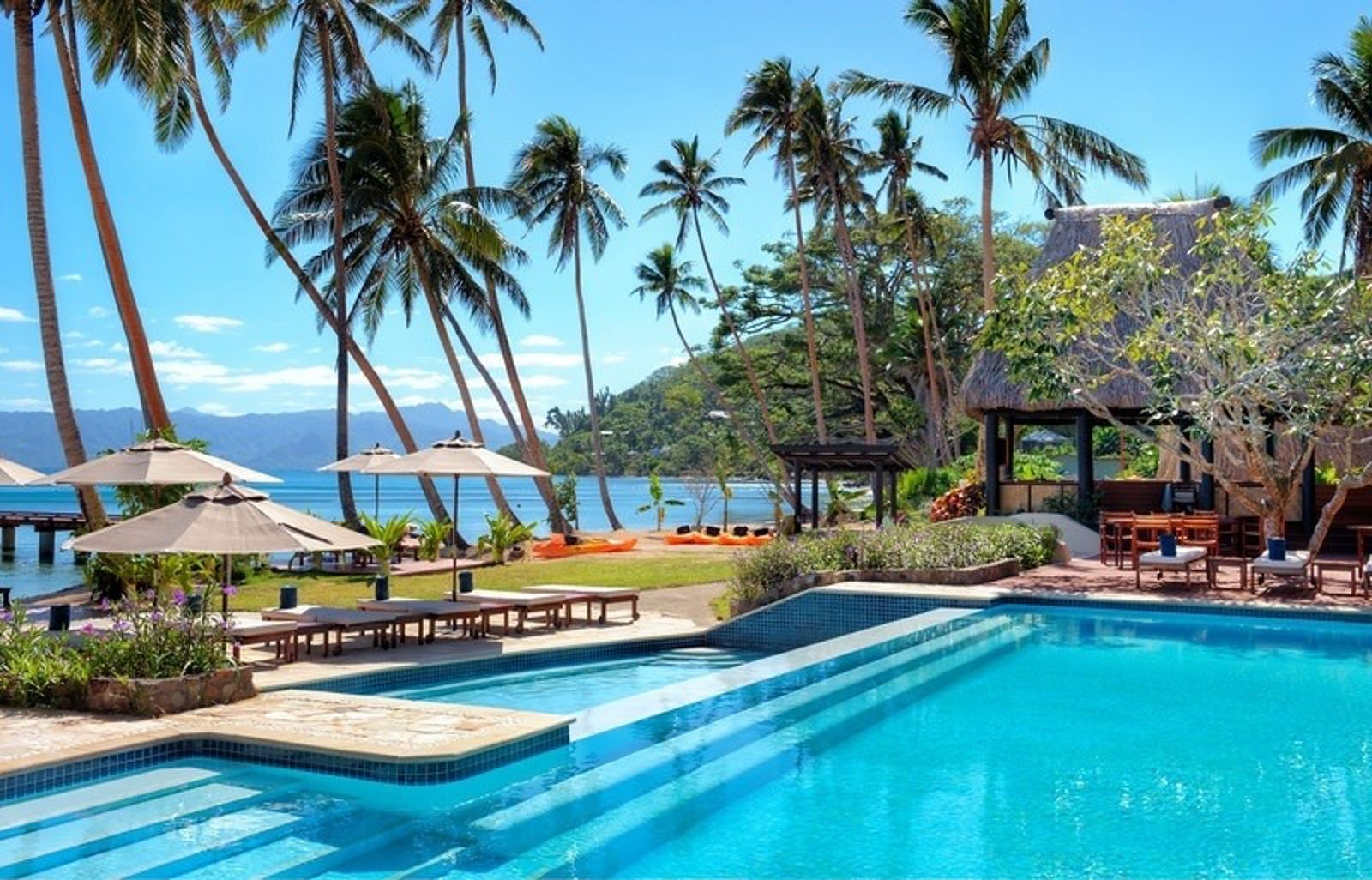 Pool View at Jean-Michel Cousteau Resort, Fiji