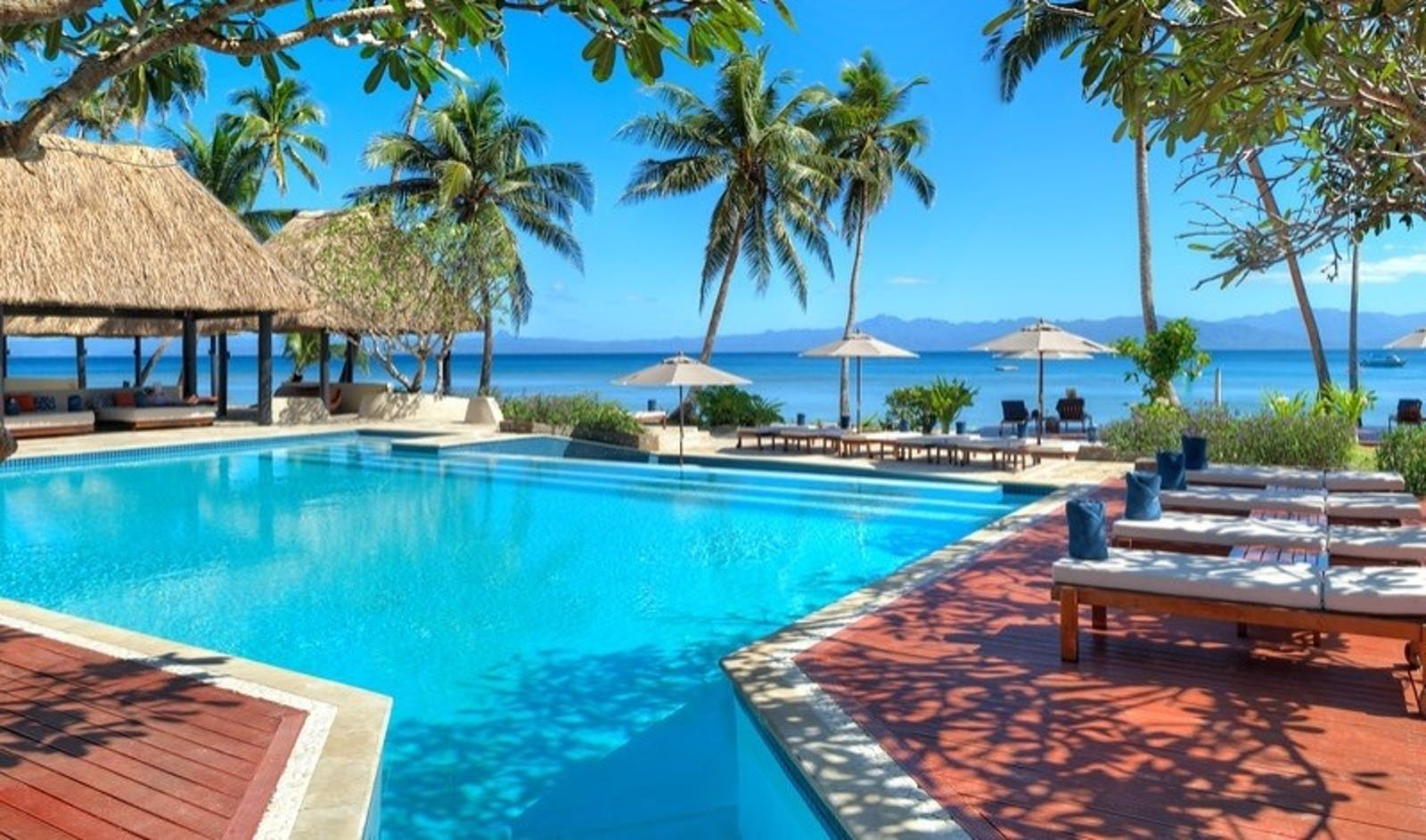 Main Pool at Jean-Michel Cousteau Resort, Fiji