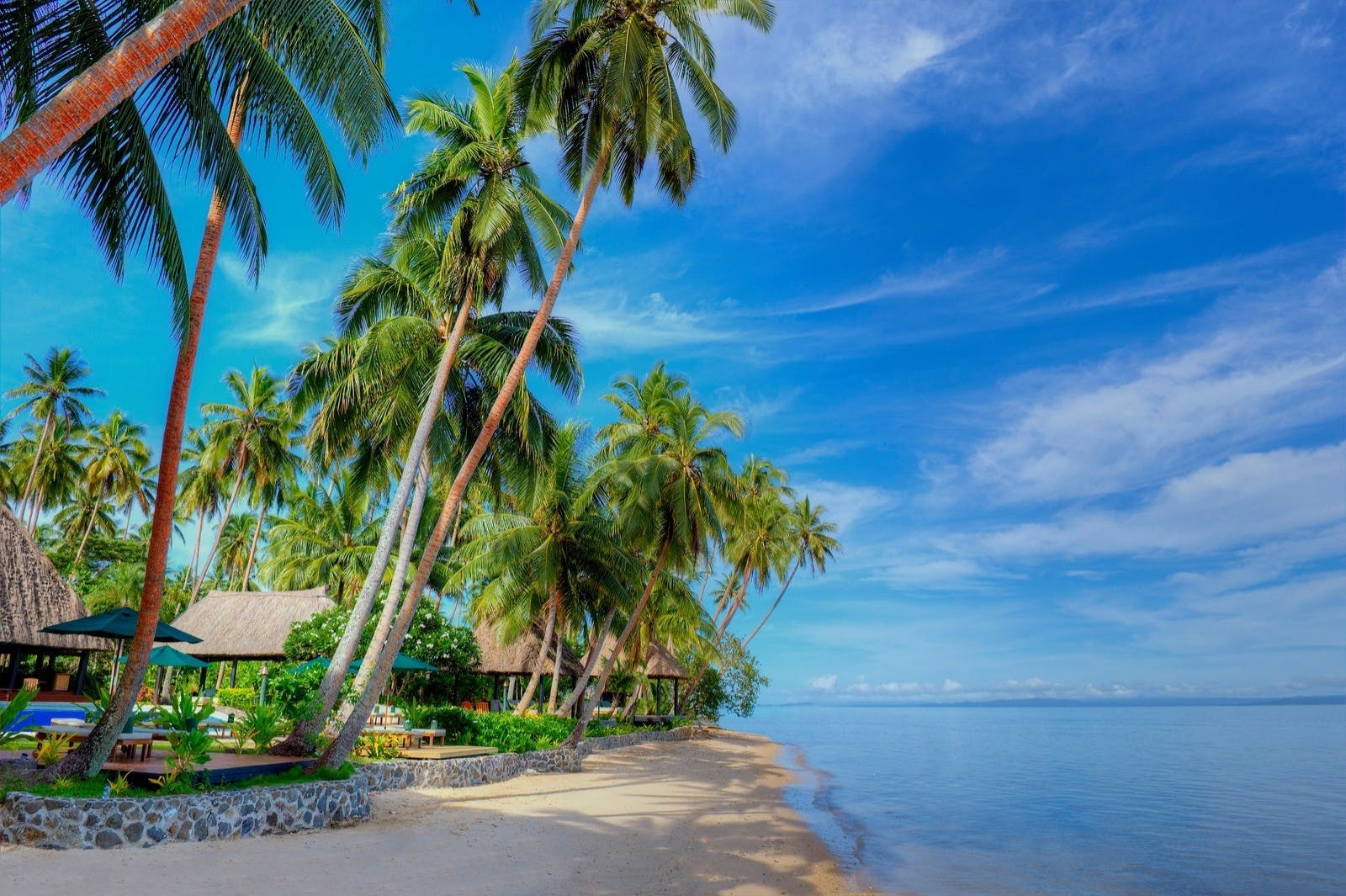 Beach View at Jean-Michel Cousteau Resort, Fiji