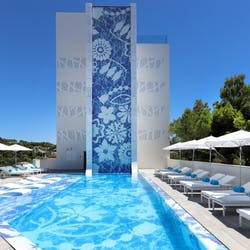 Pool at Iberostar Grand Portals Nous, Mallorca, Spain