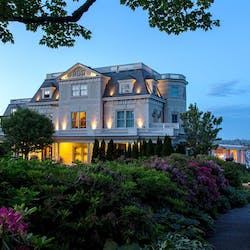 Exterior of The Chanler at Cliff Walk, Rhode Island