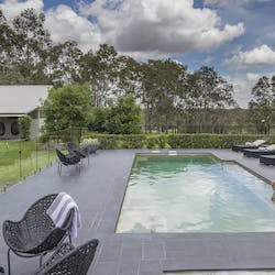 Swimming pool at Spicers Vineyards Estate