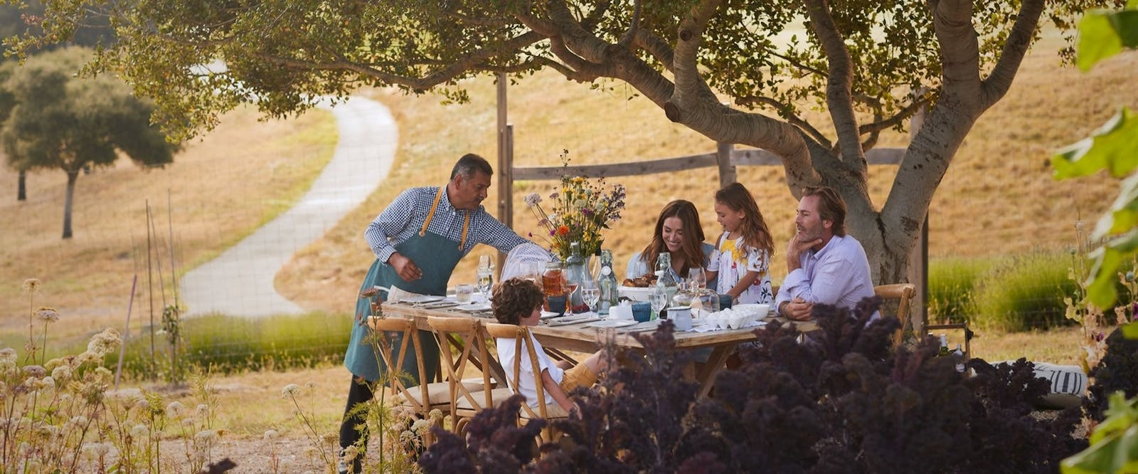 Private Dining Family Breakfast at Carmel Valley Ranch, California