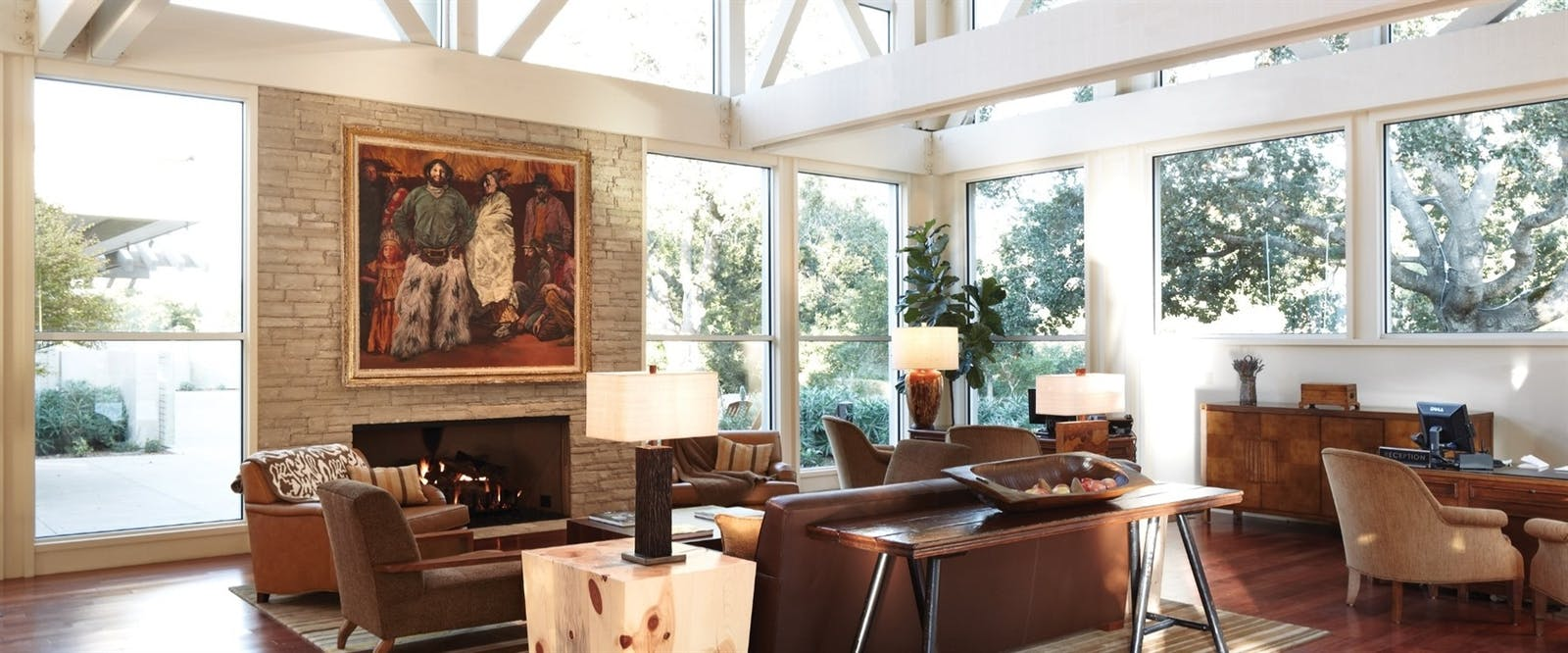 Lobby Lounge at Carmel Valley Ranch, California
