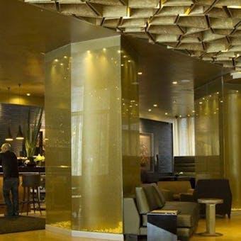 Lobby at B.O.G. Hotel