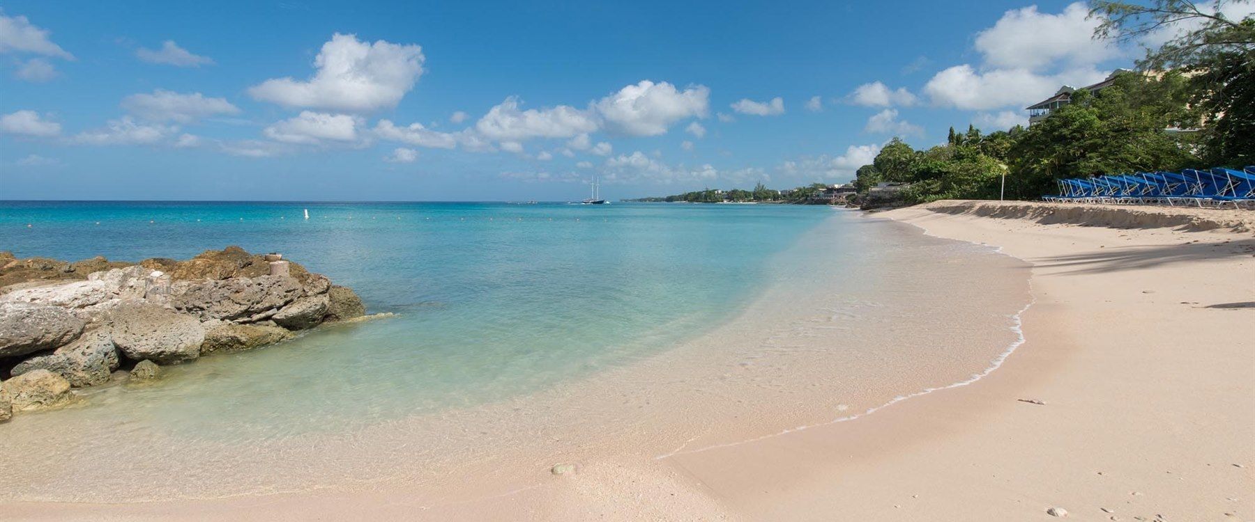 Beach Area at Crystal Cove by Elegant Hotels, Barbados