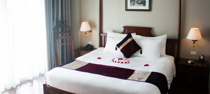 guest bedroom at Essence Hanoi Hotel & Spa