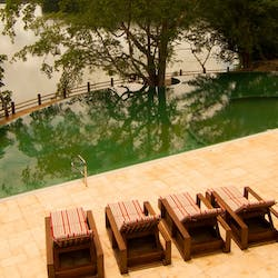 Swimming pool, Las Lagunas Boutique Hotel, Guatemala