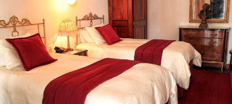 twin room, Hotel de su Merced, Sucre